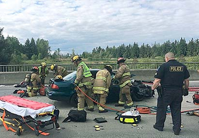 Tulalip Tribal Police Department Media Release Motor Vehicle Accident image.